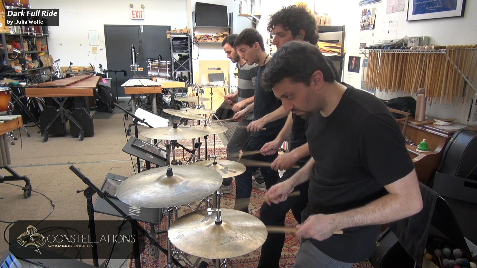 Sandbox Percussion: Dark Full Ride by Julia Wolfe