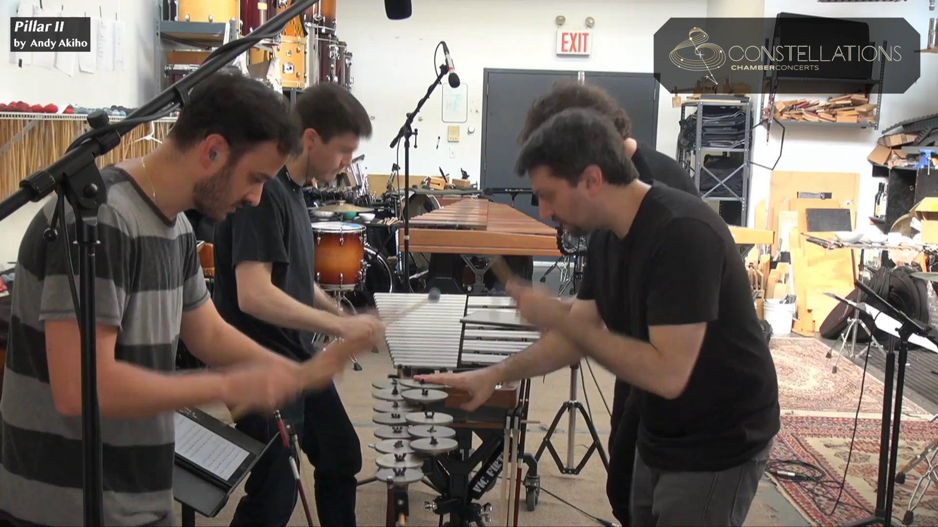 Sandbox Percussion: Pillar II by Andy Akiho