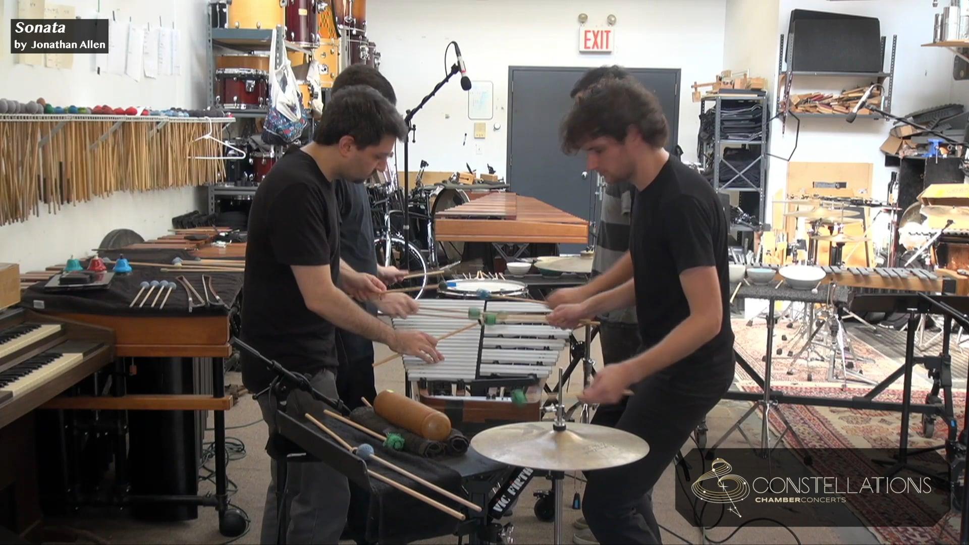 Sandbox Percussion: Sonata by Jonny Allen