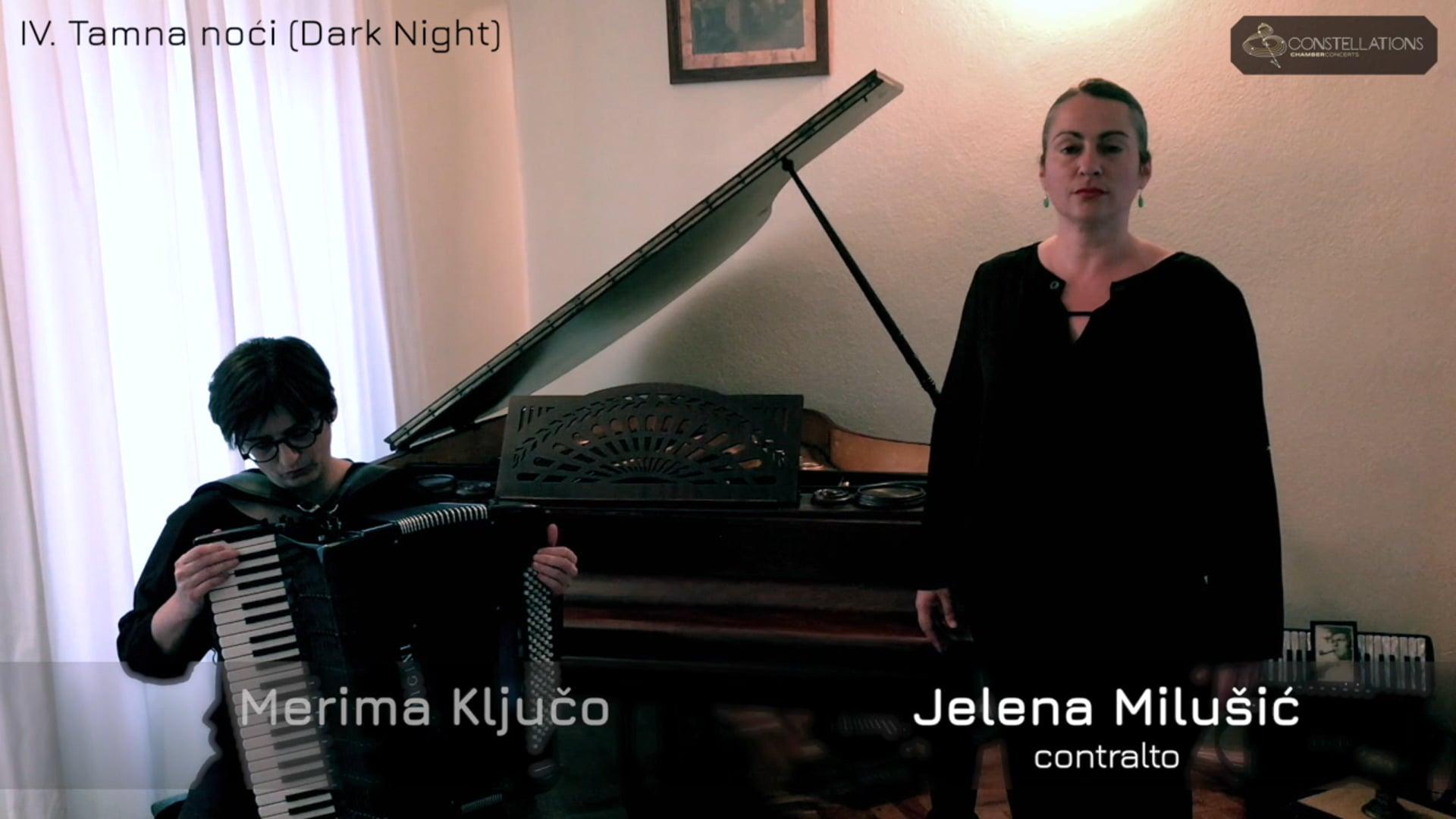 """Merima Ključo & Jelena Milušić: """"Tamna noći"""" (Dark Night)"""