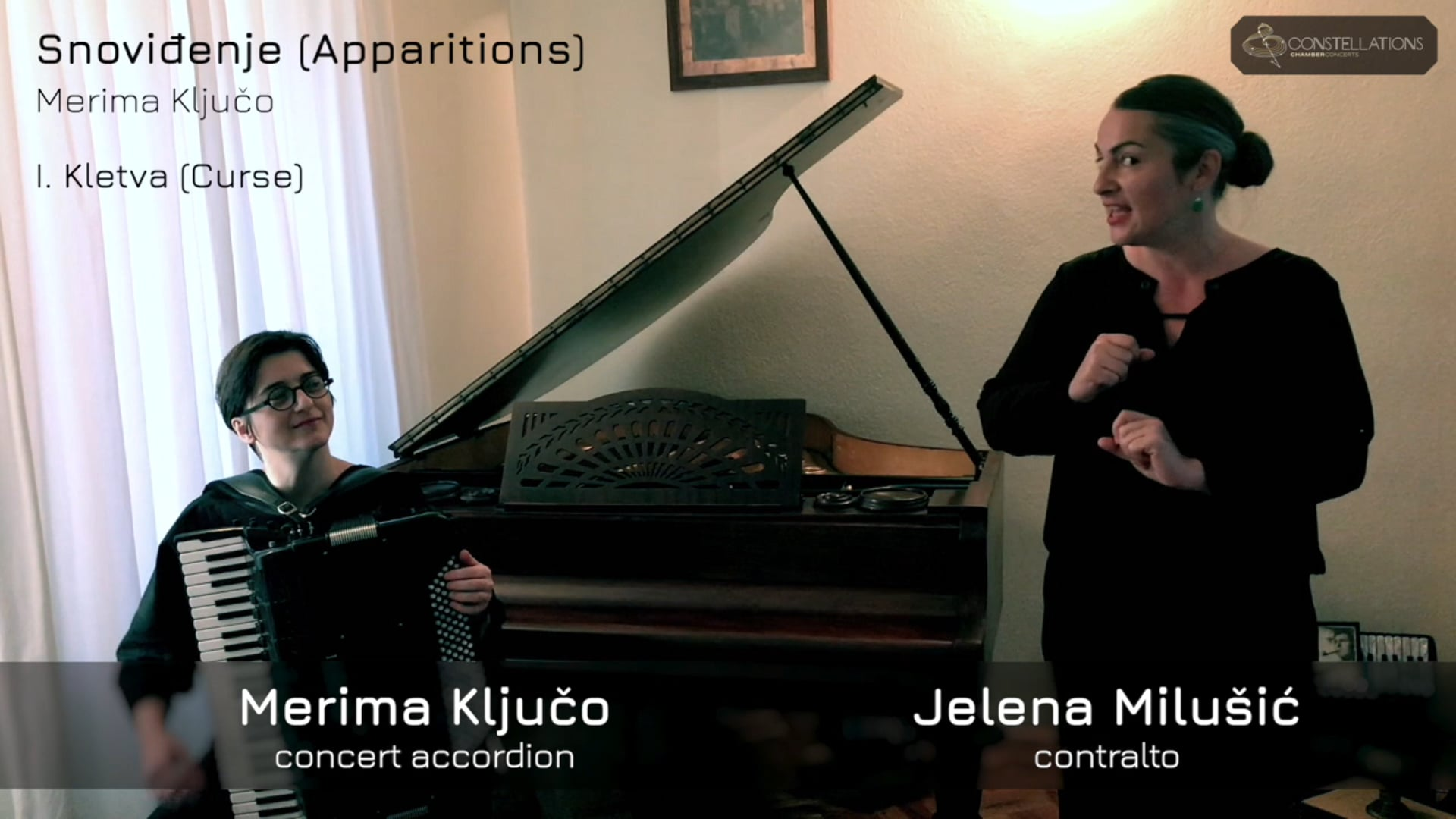 """Merima Ključo & Jelena Milušić: """"Kletva"""" (Curse)"""