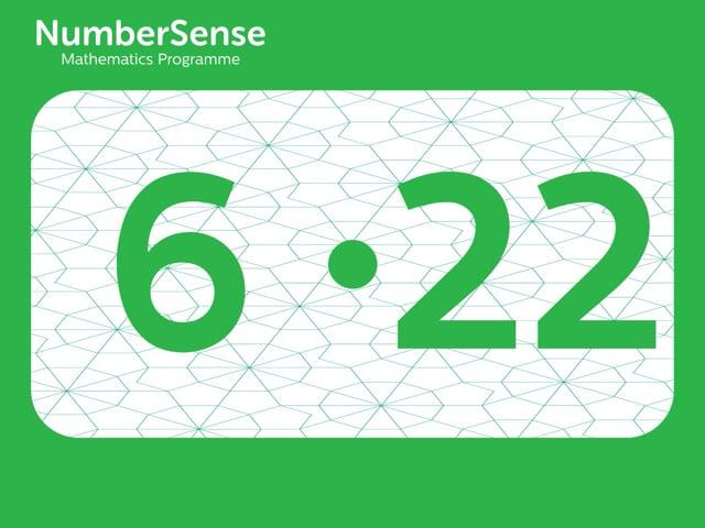 NumberSense Manipulating Numbers: Level 6, Task 22 (Gr.2, T.2, Wkbk 6)