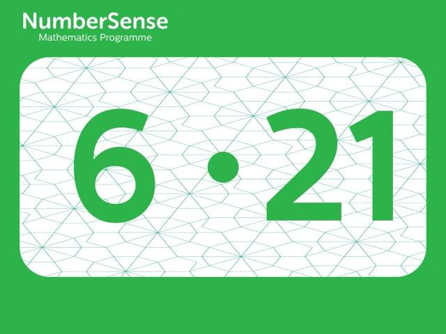 NumberSense Manipulating Numbers: Level 6, Task 21 (Gr.2, T.2, Wkbk 6)