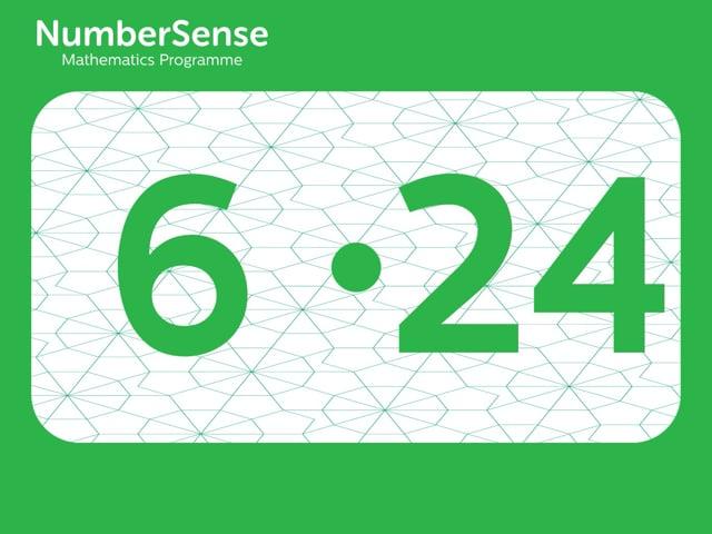 NumberSense Manipulating Numbers: Level 6, Task 24 (Gr.2, T.2, Wkbk 6)
