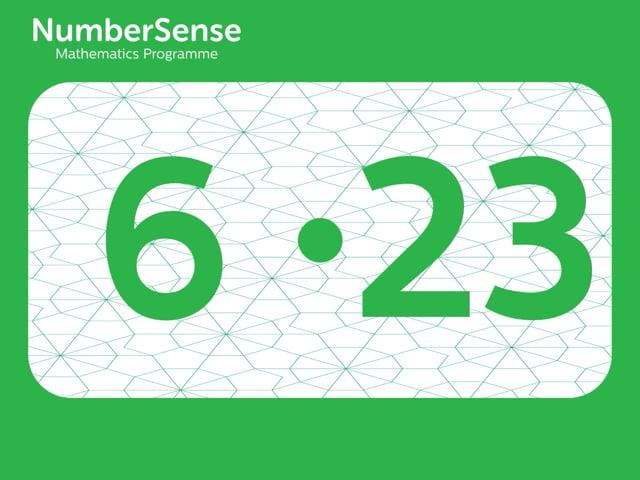 NumberSense Manipulating Numbers: Level 6, Task 23 (Gr.2, T.2, Wkbk 6)