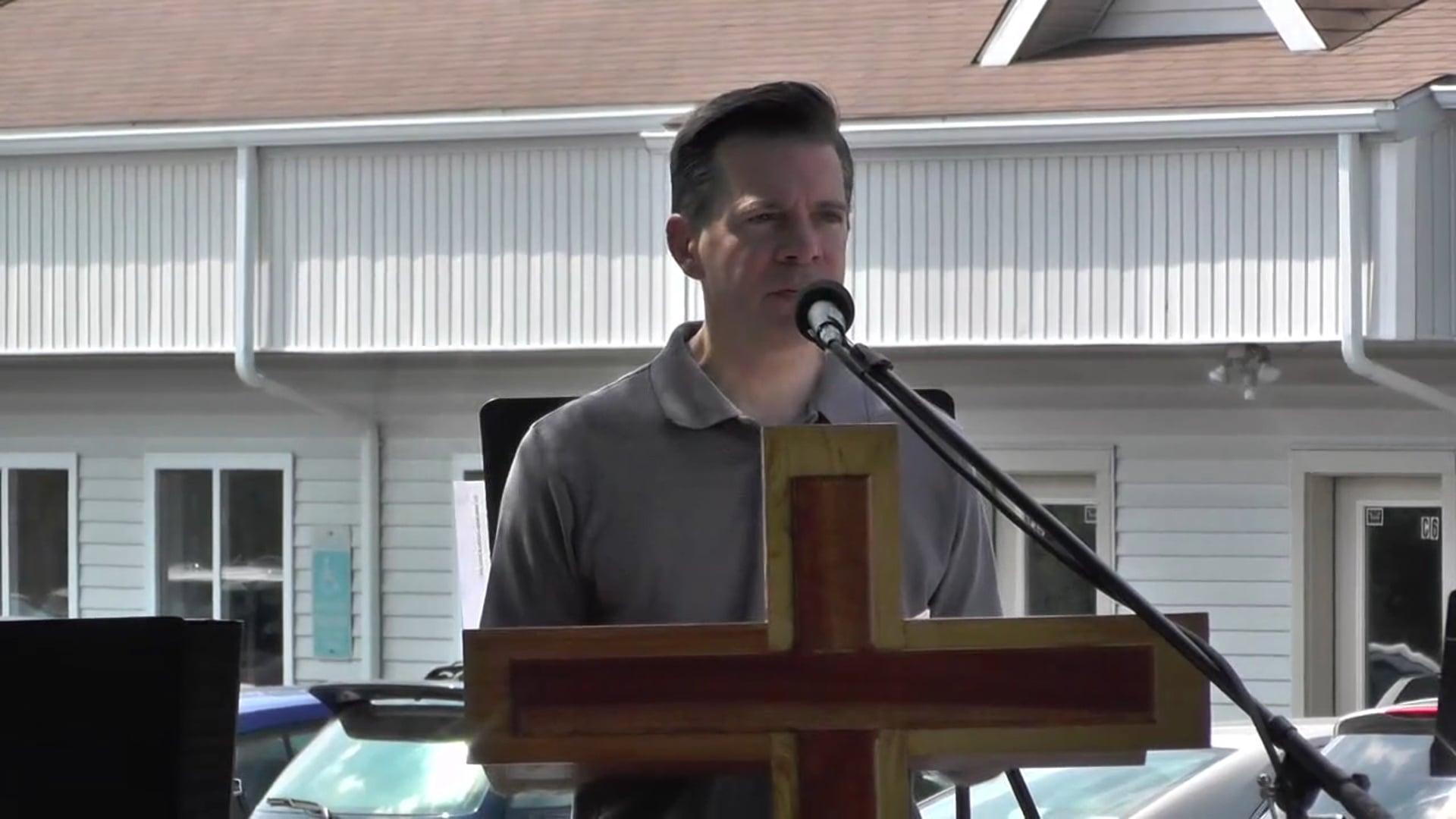 Pastor Greg Kline's Testimony