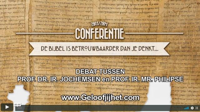 De Bijbel is betrouwbaarder dan je denkt: Debat Jochemsen...