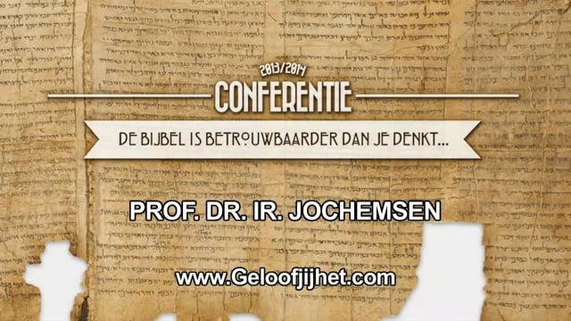 De Bijbel is betrouwbaarder dan je denkt - Prof. Dr. Ir....