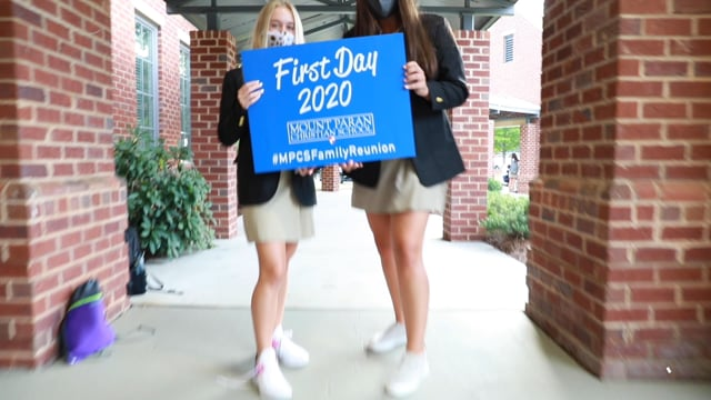 Mount Paran Minute : First Day Of School 2020