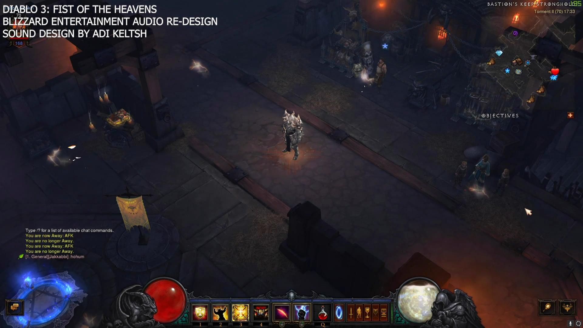 Diablo III: Fist Of The Heavens Sound Re-Design