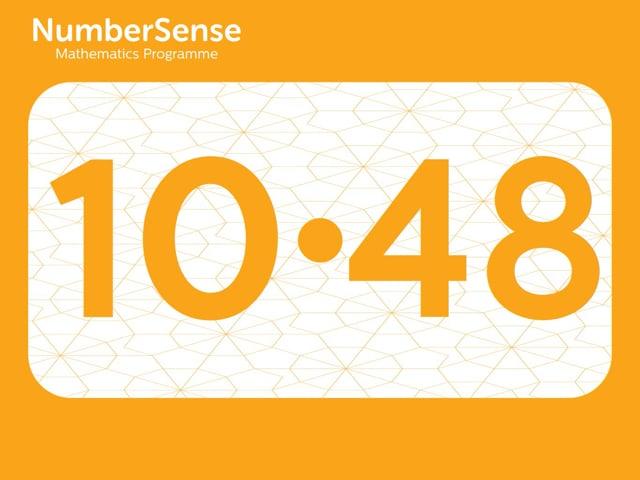 NumberSense Manipulating Numbers: Level 10, Task 48 (Gr.3, T.2, Wkbk 10)