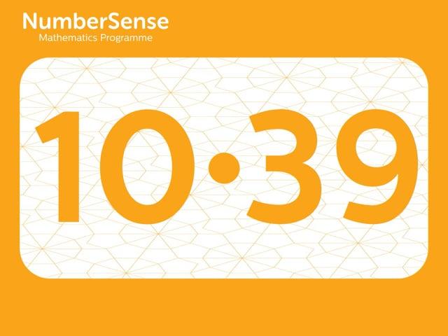 NumberSense Manipulating Numbers: Level 10, Task 39 (Gr.3, T.2, Wkbk 10)
