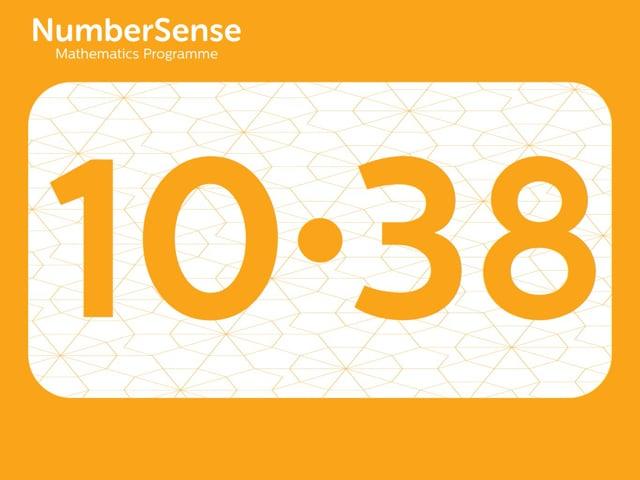 NumberSense Manipulating Numbers: Level 10, Task 38 (Gr.3, T.2, Wkbk 10)