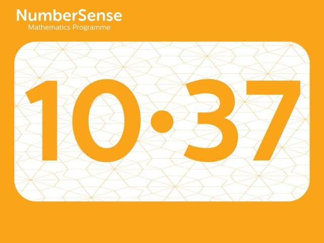 NumberSense Manipulating Numbers: Level 10, Task 37 (Gr.3, T.2, Wkbk 10)