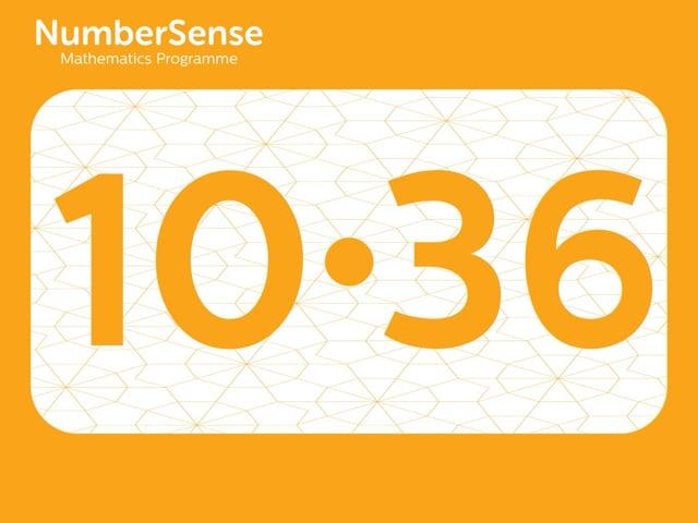 NumberSense Manipulating Numbers: Level 10, Task 36 (Gr.3, T.2, Wkbk 10)