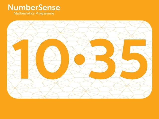 NumberSense Manipulating Numbers: Level 10, Task 35 (Gr.3, T.2, Wkbk 10)