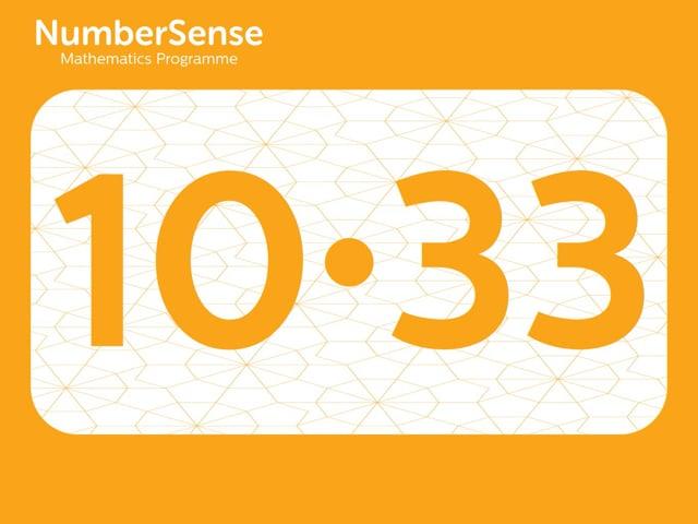 NumberSense Manipulating Numbers: Level 10, Task 33 (Gr.3, T.2, Wkbk 10)