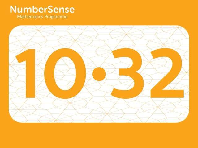 NumberSense Manipulating Numbers: Level 10, Task 32 (Gr.3, T.2, Wkbk 10)