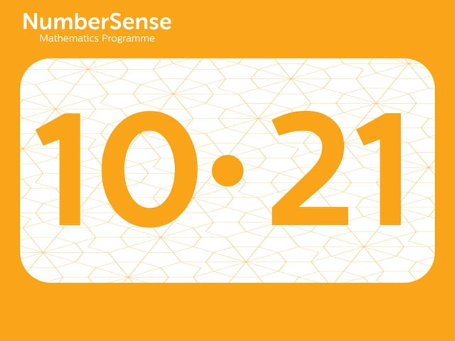 NumberSense Manipulating Numbers: Level 10, Task 21 (Gr.3, T.2, Wkbk 10)