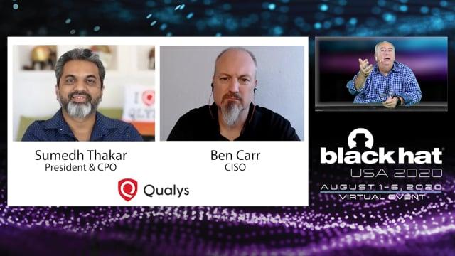 Qualys - BlackHat Interview - TechStrong TV