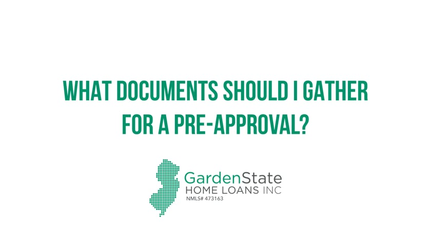 What Documents Should I Gather For Pre-Approval