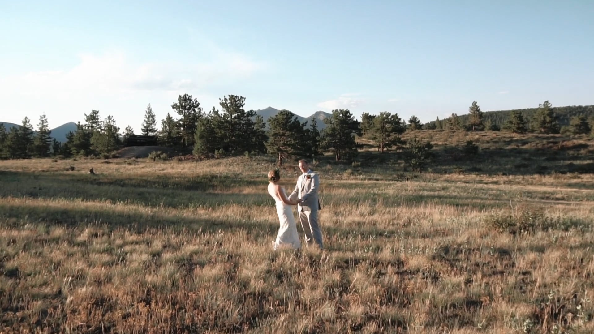 Rocky Mountain Pathways Ranch Wedding - Madeline & Max