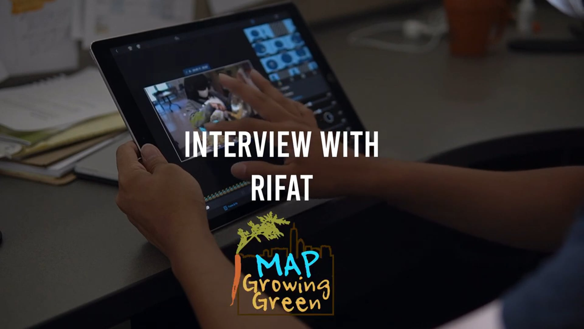 An Interview with Rifat, MAP Youth & Communication Specialist