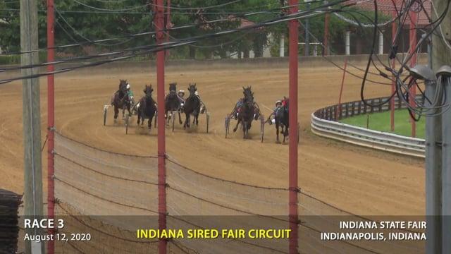8-12-2020 INDIANA STATE FAIR RACE 3