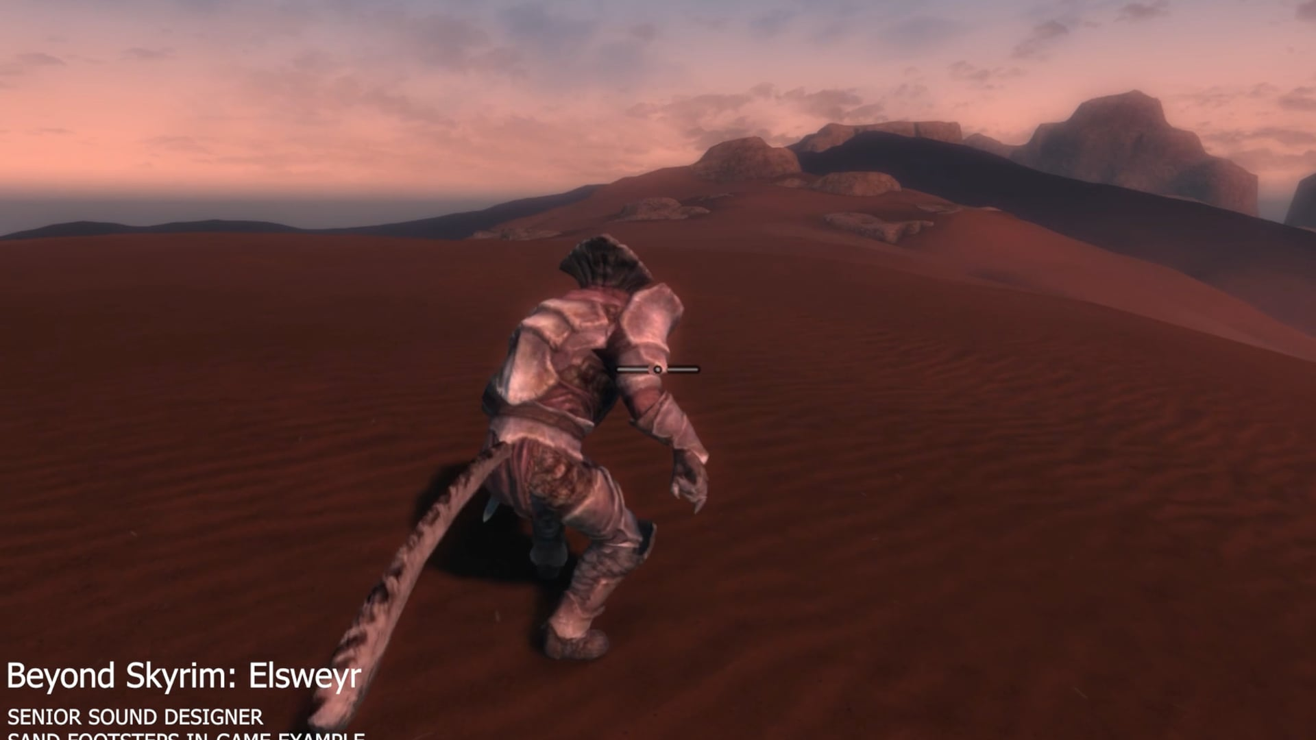 Beyond Skyrim: Elsweyr Sand Footsteps