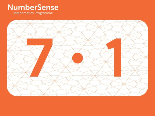 NumberSense Manipulating Numbers: Level 7, Task 1 (Gr.2, T.3, Wkbk 7)