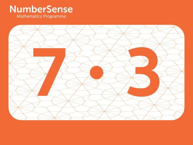 NumberSense Manipulating Numbers: Level 7, Task 3 (Gr.2, T.3, Wkbk 7)