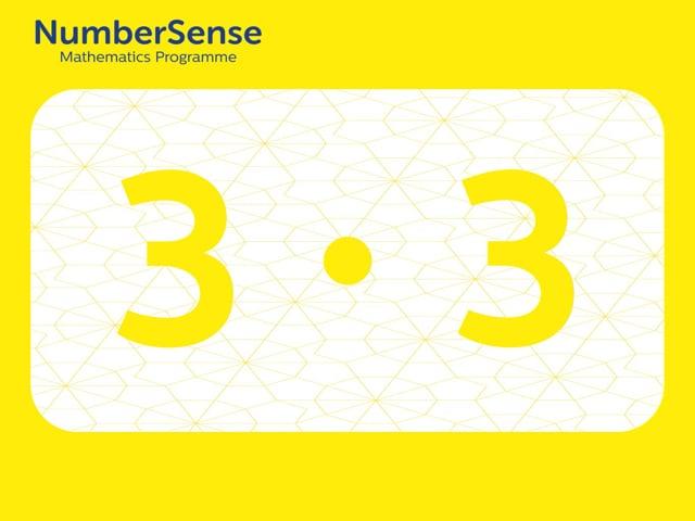 NumberSense Manipulating Numbers: Level 3, Task 3 (Gr.1, T.3, Wkbk 3)