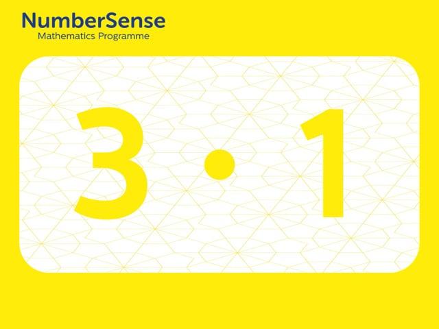 NumberSense Manipulating Numbers: Level 3, Task 1 (Gr.1, T.3, Wkbk 3)