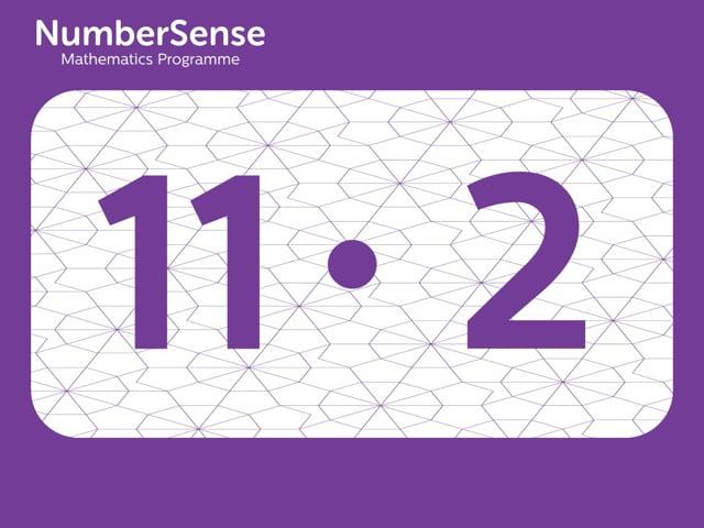 NumberSense Manipulating Numbers: Level 11, Task 2 (Gr.3, T.3, Wkbk 11)