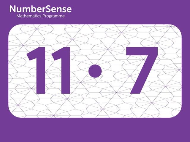 NumberSense Manipulating Numbers: Level 11, Task 7 (Gr.3, T.3, Wkbk 11)