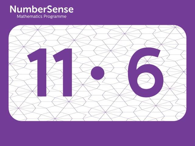 NumberSense Manipulating Numbers: Level 11, Task 6 (Gr.3, T.3, Wkbk 11)