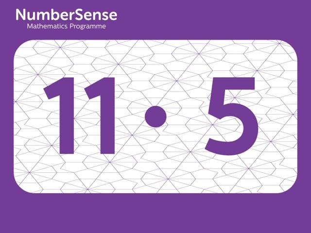 NumberSense Manipulating Numbers: Level 11, Task 5 (Gr.3, T.3, Wkbk 11)