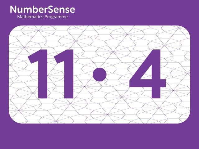 NumberSense Manipulating Numbers: Level 11, Task 4 (Gr.3, T.3, Wkbk 11)