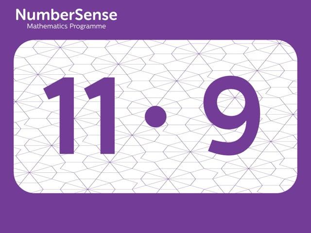 NumberSense Manipulating Numbers: Level 11, Task 9 (Gr.3, T.3, Wkbk 11)