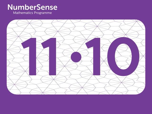 NumberSense Manipulating Numbers: Level 11, Task 10 (Gr.3, T.3, Wkbk 11)
