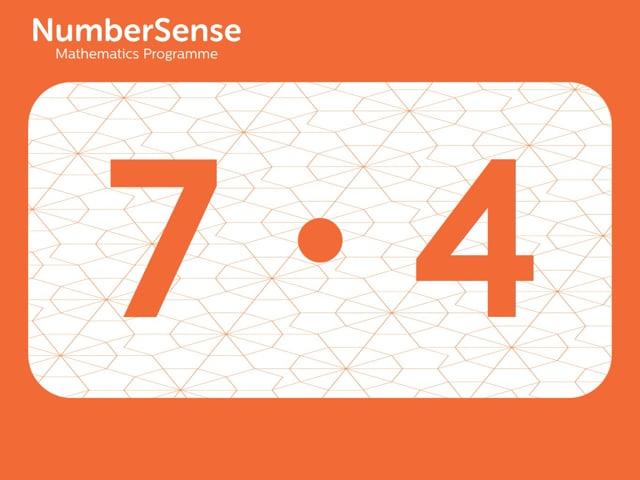 NumberSense Manipulating Numbers: Level 7, Task 4 (Gr.2, T.3, Wkbk 7)