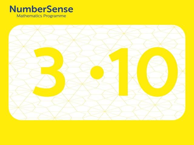 NumberSense Manipulating Numbers: Level 3, Task 10 (Gr.1, T.3, Wkbk 3)