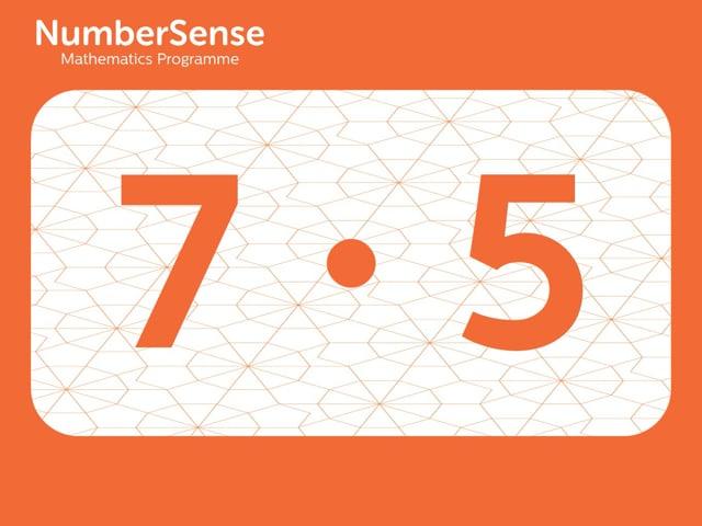NumberSense Manipulating Numbers: Level 7, Task 5 (Gr.2, T.3, Wkbk 7)
