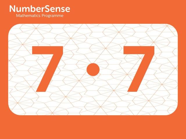 NumberSense Manipulating Numbers: Level 7, Task 7 (Gr.2, T.3, Wkbk 7)
