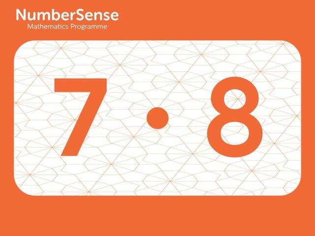 NumberSense Manipulating Numbers: Level 7, Task 8 (Gr.2, T.3, Wkbk 7)