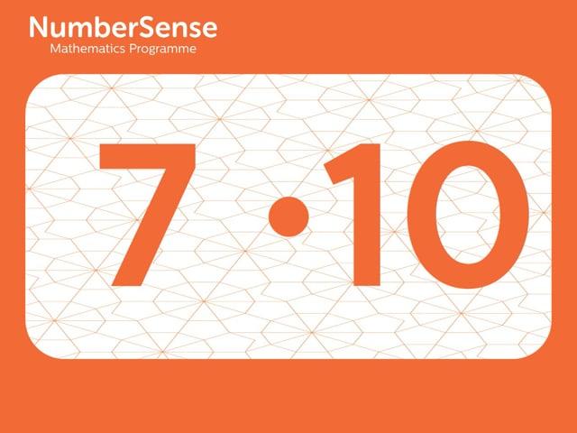 NumberSense Manipulating Numbers: Level 7, Task 10 (Gr.2, T.3, Wkbk 7)
