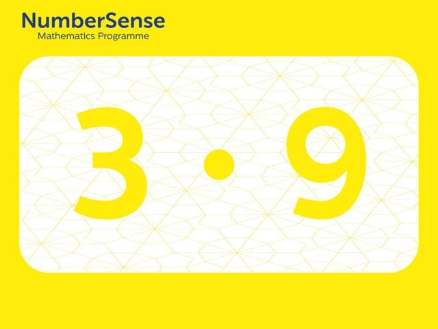 NumberSense Manipulating Numbers: Level 3, Task 9 (Gr.1, T.3, Wkbk 3)
