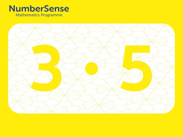 NumberSense Manipulating Numbers: Level 3, Task 5 (Gr.1, T.3, Wkbk 3)