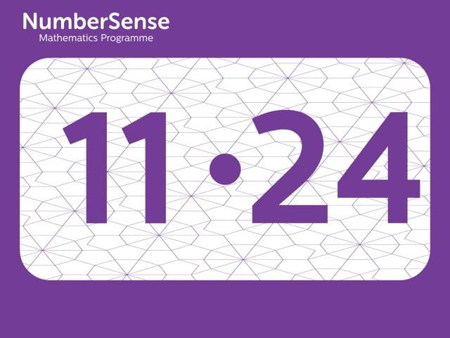 NumberSense Manipulating Numbers: Level 11, Task 24 (Gr.3, T.3, Wkbk 11)