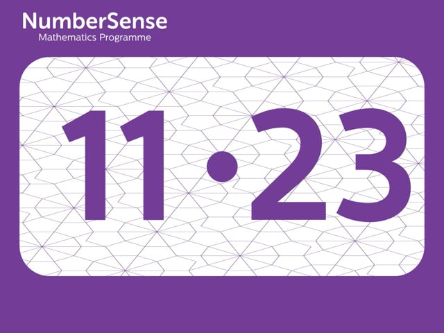 NumberSense Manipulating Numbers: Level 11, Task 23 (Gr.3, T.3, Wkbk 11)